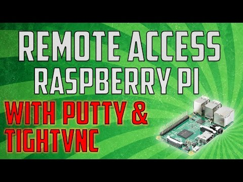 How to Remote Access Your Raspberry Pi Using Putty & TightVNC
