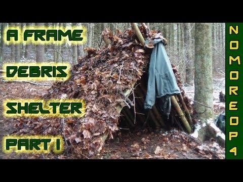 How to Build an A-Frame Debris Shelter Pt. 1