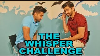 WHISPER CHALLENGE! (BOLLYWOOD DIALOGUES) - DhoomBros
