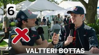 Toro Rosso's Carlos Sainz And Dany Kvyat | F1 Grill The Grid