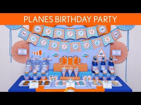 Planes Birthday Party Ideas // Planes - B126