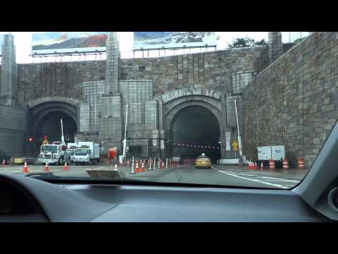Driving to New York City - Part 4 - Newark Liberty Airport, Manhattan Skyline, Lincoln Tunnel