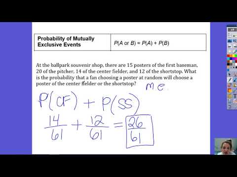 13.6 Probability of Mutually Exclusive Eventns