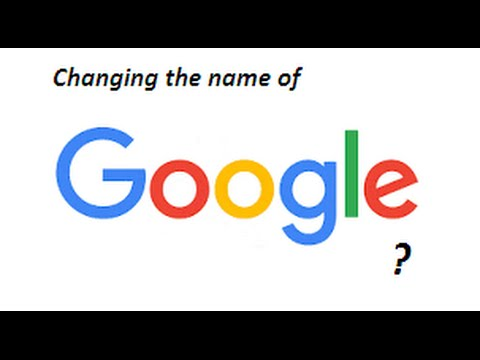 How to change the name of Google site into another own name