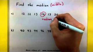 Statistics Find The Median