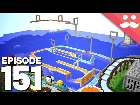 Hermitcraft 5: Episode 151 - Building a DEADLY RACE!