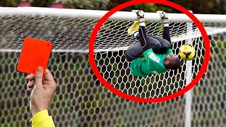 10 FAMOUS RED CARDS GOALKEEPERS IN FOOTBALL
