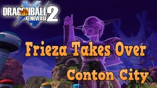 Dragon ball xenoverse 2  XB1 Frieza Takes Over Conton City