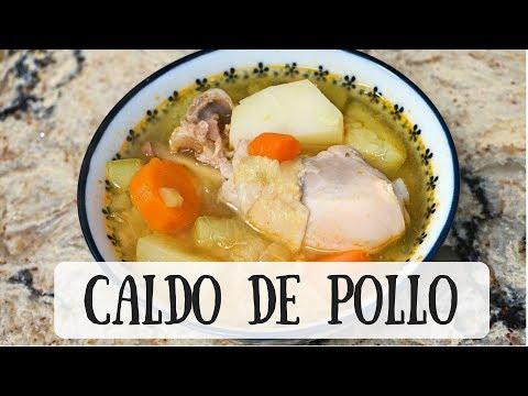 Caldo de Pollo- Chicken Soup