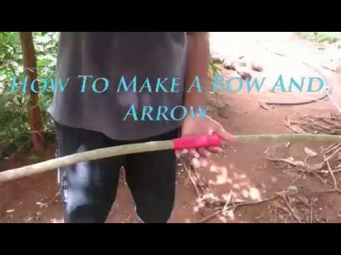 Bow and Arrow Video : Hunting bow and arrow In Forest - DIY bow And Arrow