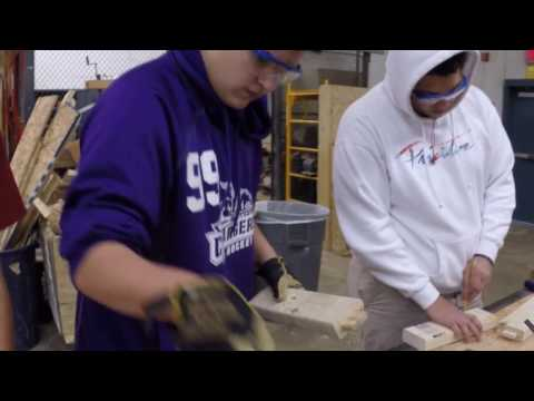 Carpentry and Construction Technologies at Chantilly Academy