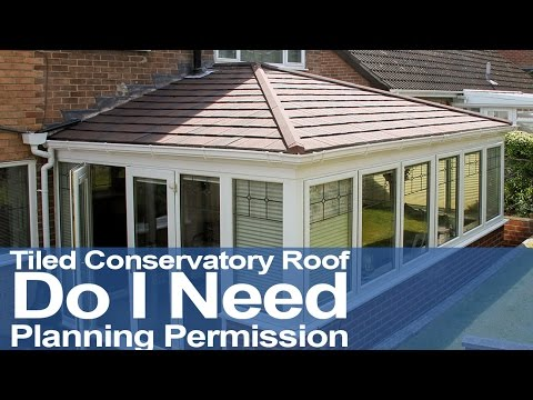 Tiled Conservatory Roof | Do I Need Planning Permission?