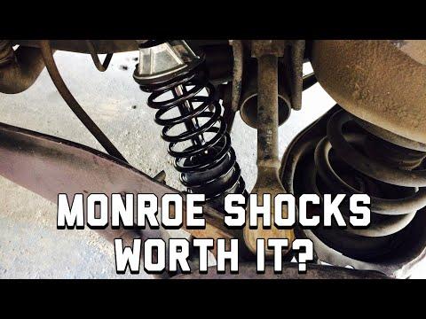 Best Shocks for a Honda Odyssey - Monroe Shocks 58654 Review