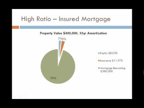 Pie Chart of Equity - What are CMHC Fees/Mortgage Insurance?