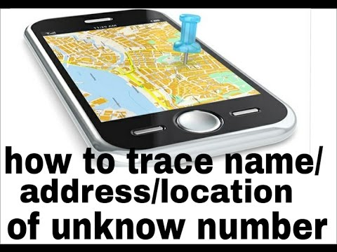 How to trace name/address/location unknow number? Usa#canada#india