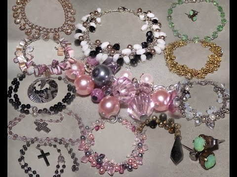 Reusing & Repurposing Old & Broken Costume Jewellery