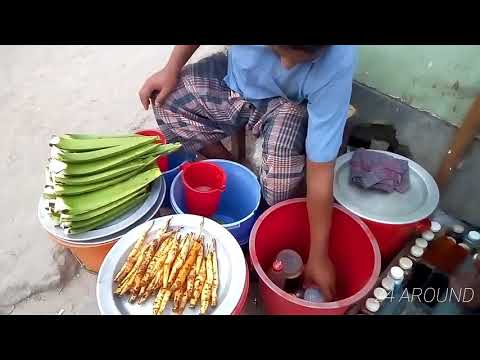 Aloe vera juice / How to make Aloe vera juice / Bangladeshi street food.