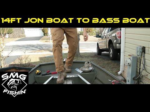 14ft Jon Boat To Bass Boat