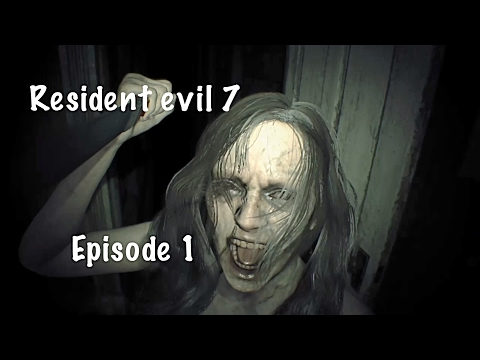 Resident evil 7 biohazard Ep 1(Find Mia and head to the attic)
