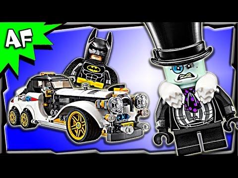Lego Batman Movie Mr. PENGUIN Arctic Roller 70911 Speed Build