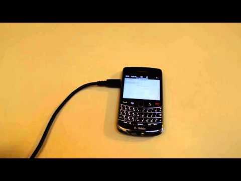 Tutoriel: Sauvegarder des données d'appareil Blackberry vers PC