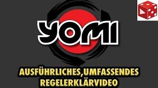 Yomi - Ausführliches Regelerklärvideo inklusive Bespielpartie mit Dummy-Spieler