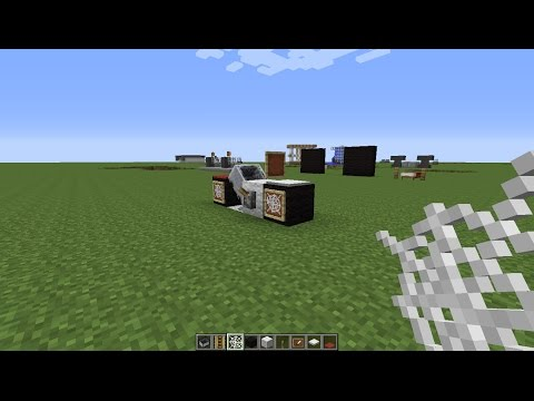 How to make a Bike in Minecraft PS3/PS4/PC/Xbox360/XboxOne