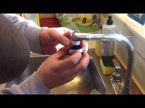 Replacing a Sink Faucet Nozzle