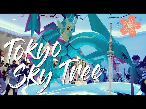 Tokyo Sky Tree & Pokémon Center Japan!🇯🇵東京スカイツリーとポケモンセンター