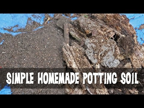 How to Make Potting Soil (Easy and Free)