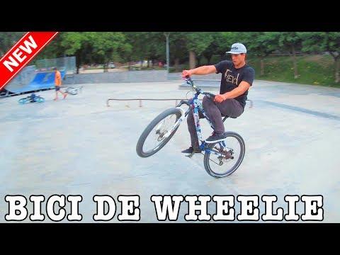 PRUEBO UNA BICI DE HACER CABALLITOS - Stunt MTB