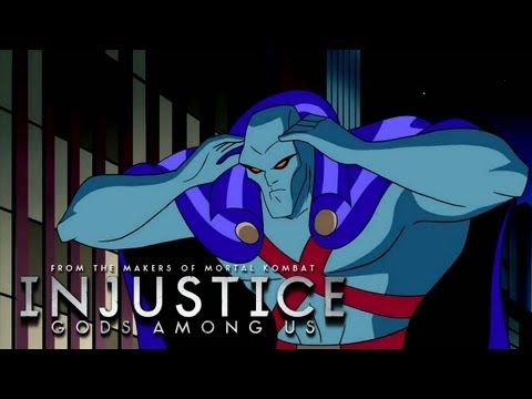 Injustice: Gods Among Us - History of Martian Manhunter TRUE-HD QUALITY