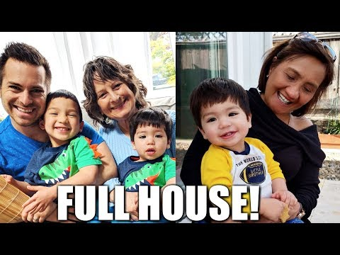 🏡A FULL HOUSE! 🎉😀