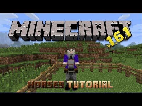 Minecraft 1.6.1 Tutorial - Taming & Breeding Horses