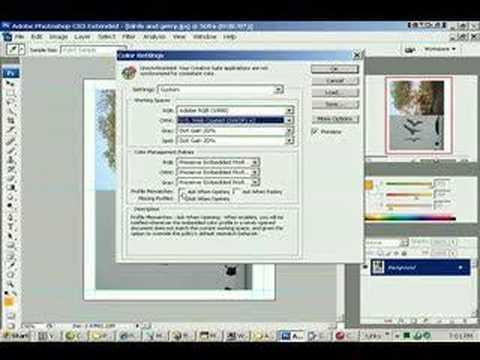 0302 Color Management Photoshop cs3