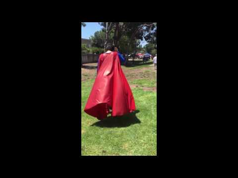 Superman's Cape 2