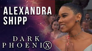Alexandra Shipp on Storm & strong female Super Heroes LIVE from the X-Men: Dark Phoenix Premiere