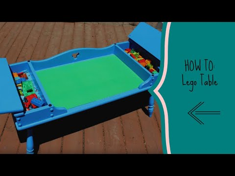 HOW TO: Lego Table