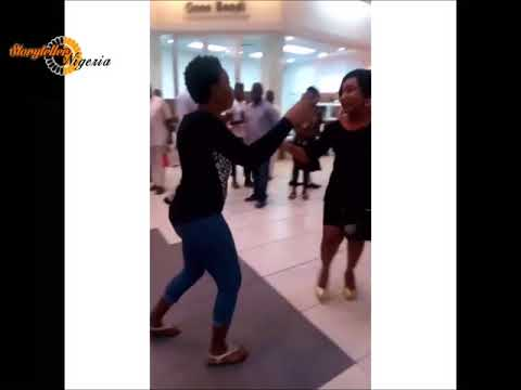 Lady propose to her boyfriend in a Mall and he said no. See her reaction.