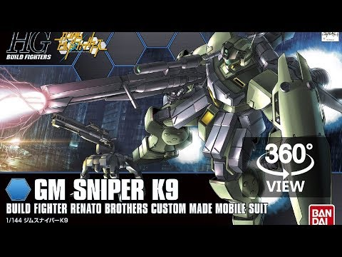 [360°Degree] HG 1/144 GM Sniper K9