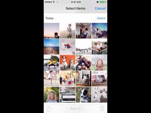 Adding Photos to an Existing iPhone Album
