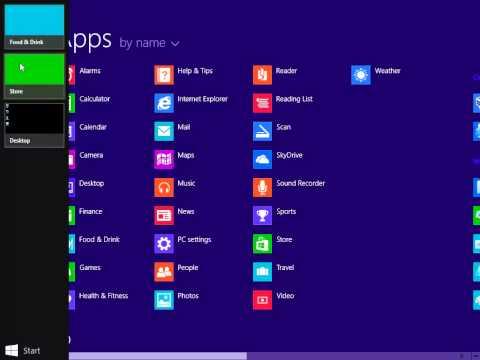 Close Apps on Windows 8 or 8.1 laptop/desktop