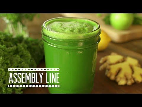 Detox Green Juice | Assembly Line