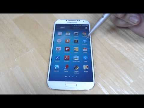 How to create a folder on the Samsung Galaxy S4