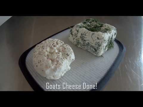 Make goats cheese at home