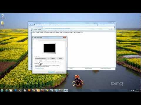 Flickr Interestingness Screensaver Tutorial for Windows 7