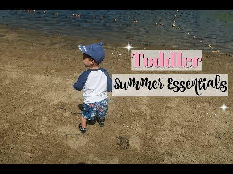 TODDLER SUMMER ESSENTIALS | collab