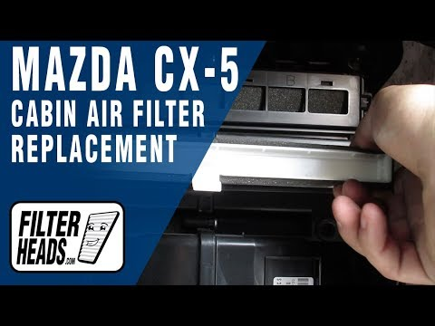 How to Replace Cabin Air Filter 2014 Mazda CX-5