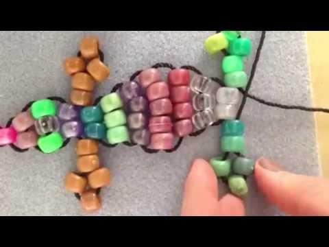 How to make a beaded lizard key chain!