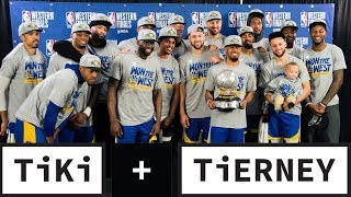 Warriors Advance To Fifth Straight NBA Finals   Tiki + Tierney